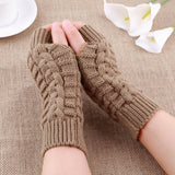 Soft Warm Knitted Gloves
