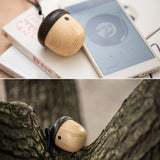 Portable Wooden Nuts Bluetooth Speaker