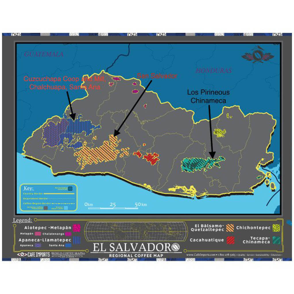 El Salvador Itinerary and a little background