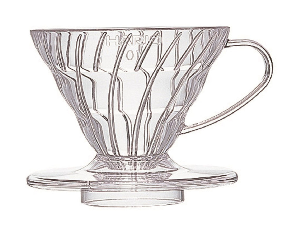 Hario V60-01 (1-cup) Clear plastic Dripper