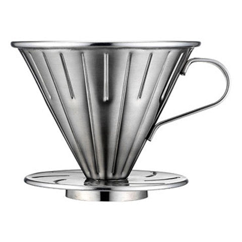Tiamo stainless steel V60 (02) dripper