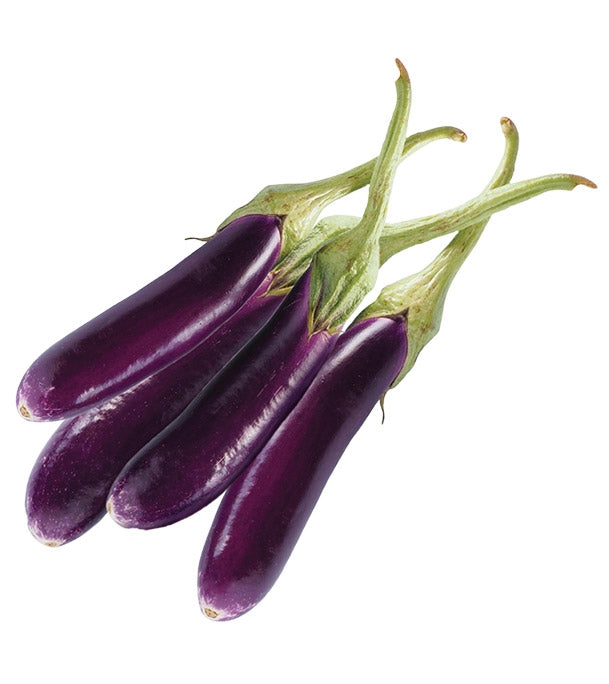 Brinjal Purple Long - 100 Seeds