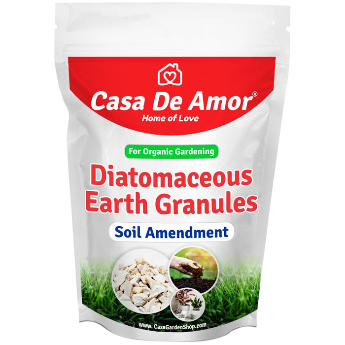 Casa De Amor Diatomaceous Earth Granules for Soil Amendment- 900 gm