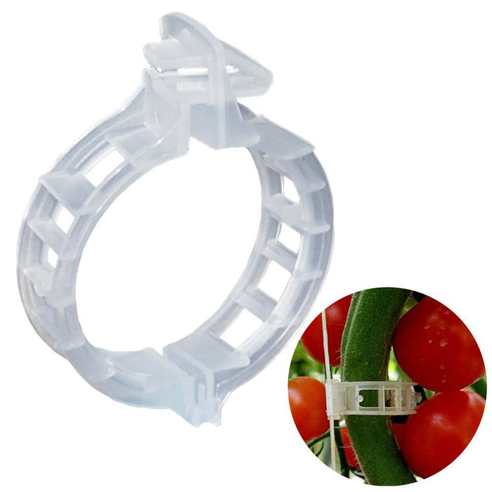 20 pcs Tomato, Bottle Gourd, Karela, Veggie Garden Plant Support Clips For Trellis Twine Greenhouse