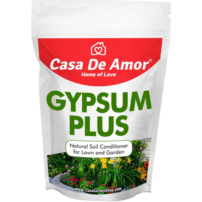 Casa De Amor Gypsum for Plants Natural Soil Conditioner for Lawn and Garden (900 gm)