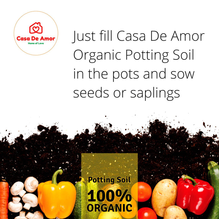 Casa De Amor Organic Potting Soil Mix