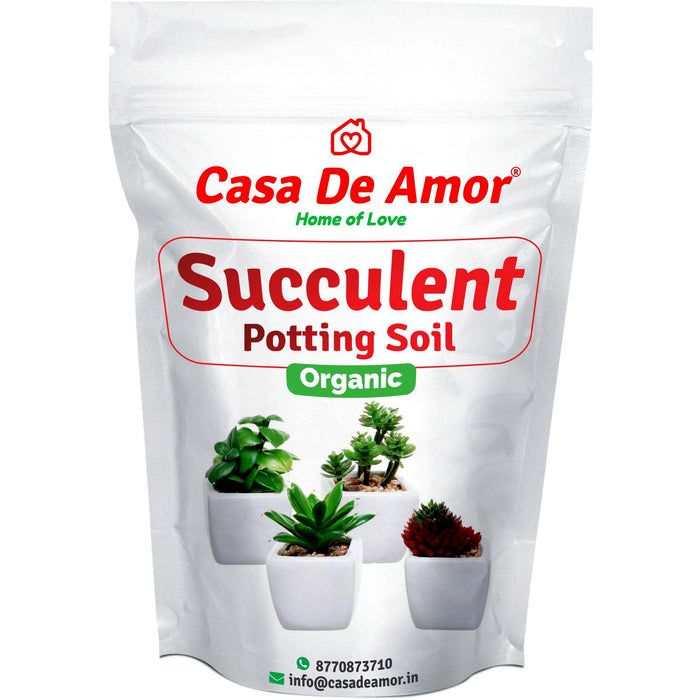 Succulents Potting Soil 100% Organic Special Research Based Formula for All Succulent Plants