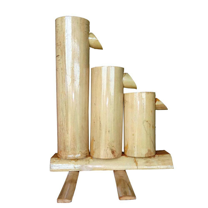 3-Tier Bamboo Fountain, 12 Inches