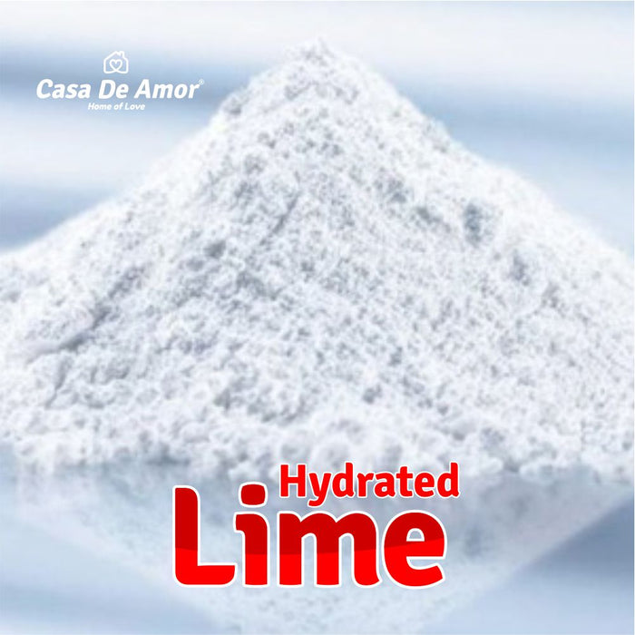 Casa De Amor Hydrated Lime for Gardening and Soil Amendment- 900 gm