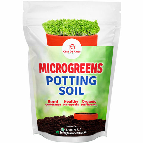 Microgreens Organic Potting Soil, Grow Microgreens in Kitchen Garden, Terrace Garden