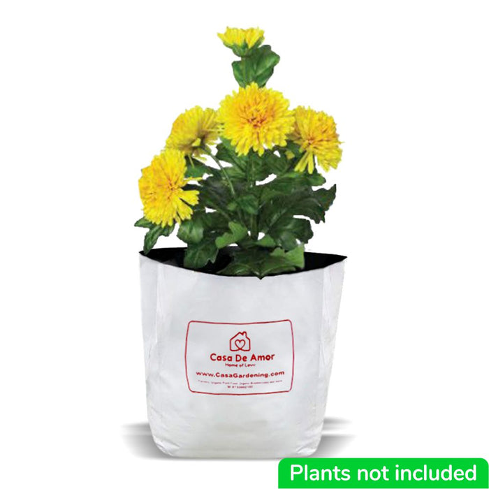 Poly Grow Bags (10), Best for Kitchen Gardens, Terrace Gardens, Balcony Gardens FREE SHIPPING
