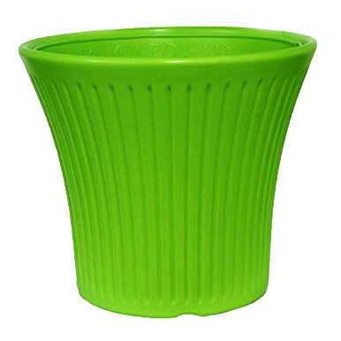 Casa De Amor 100% Virgin Plastic Tancy Pot-12 Inches  | Set of 2 Planter