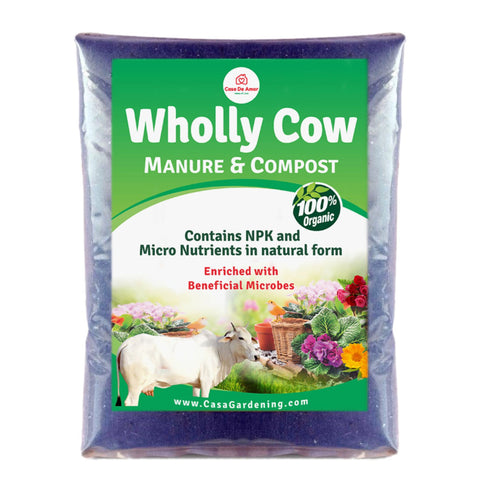Wholly Cow Manure & Compost Made From Desi Cows' Dung Only