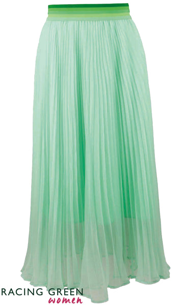 Racing Green - Gardenflow Skirt - Mint Green