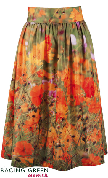 Racing Green - Garden Tea Skirt - Green