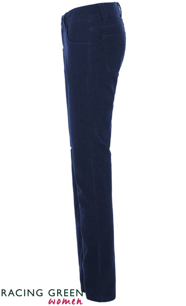 Racing Green - Vintage Mid Rise Jean - Deep Navy