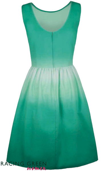Racing Green - Waterfall Sundress - Mint Green
