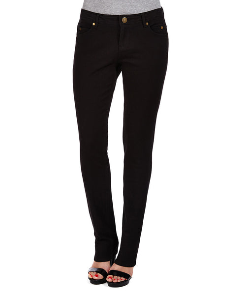 "VERA | Straight | BLACK | 33"" Leg RUBY LONDON - DENIM - JEANS - DESIGNER - BAMBOO - ORGANIC - RubyLondon"