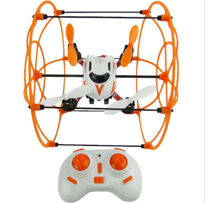 Air and Land Maneuver 3D Drone With Remote Controller