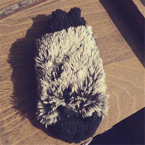 Hedgehog Winter Glove