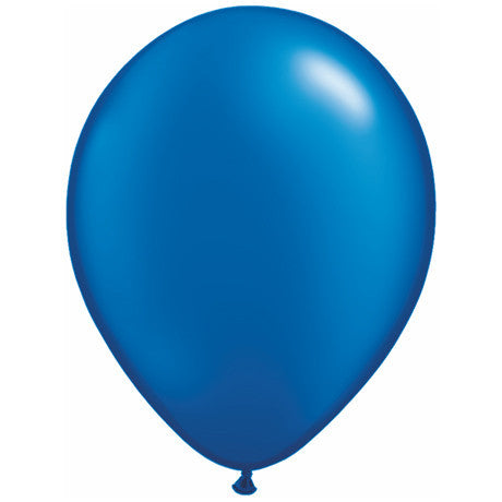 Blue Latex Balloons 11""