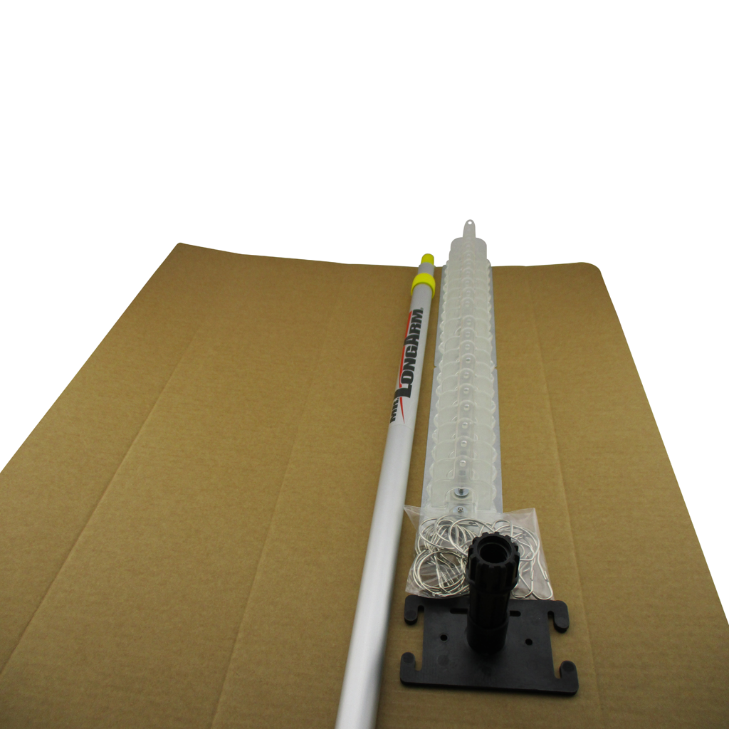 Dual Thingo Head with Adaptor & 3-6 foot Mr Long Arm Telescopic Pole in Packaging Sleeve
