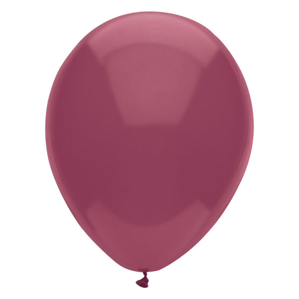 Burgundy Latex Balloons 30cm