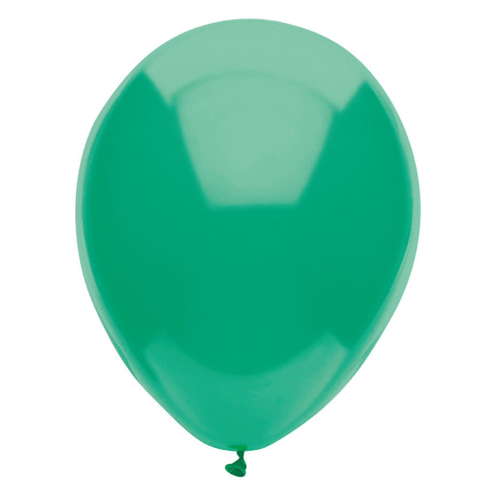 Green Latex Balloons 30cm