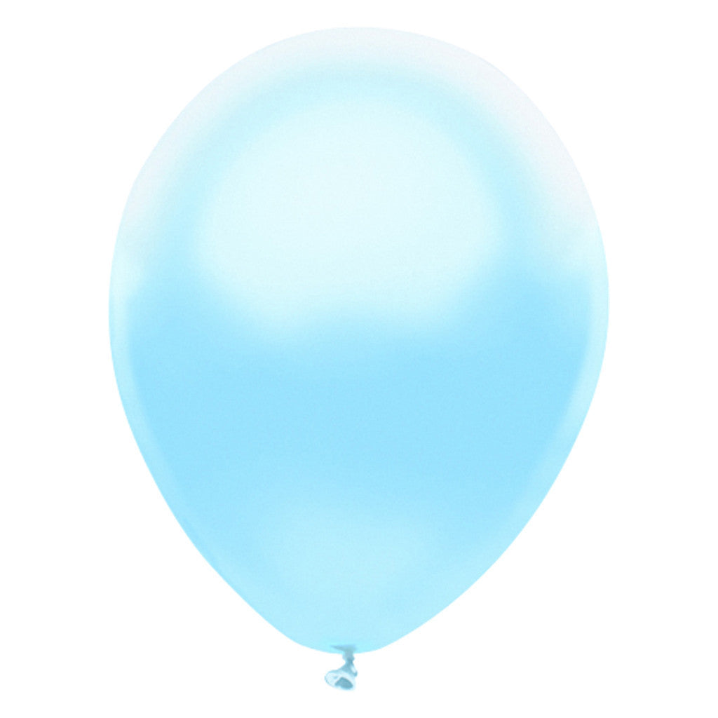 Baby Blue Latex Balloons 30cm