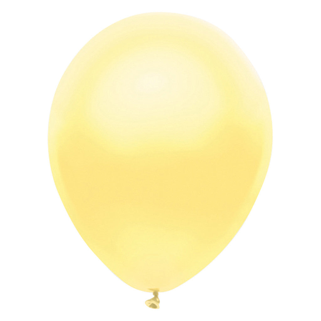 Yellow Latex Balloon 30cm