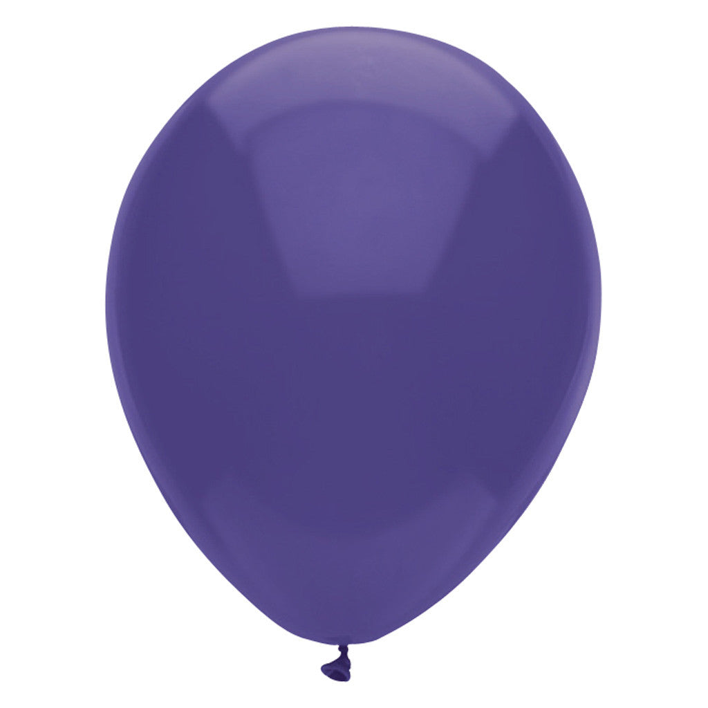 Purple Latex Balloons 30cm