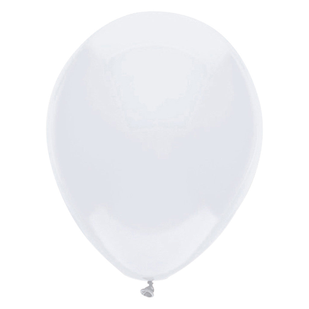 White Latex Balloons 30cm