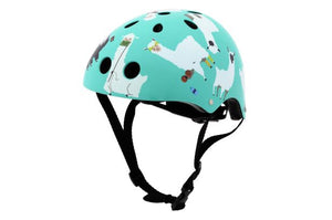 Mini Hornit Lids Kids Bike Helmets - LLAMA -  (M Size Fits Adult Heads to 58 cms)