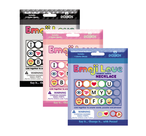 NECKLACE KIT 25 POCOS (Links) 120 Stickers