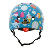 Mini Hornit Lids Kids Bike Helmets - ICE CREAM -  (M size fits adult heads to 58 cm)