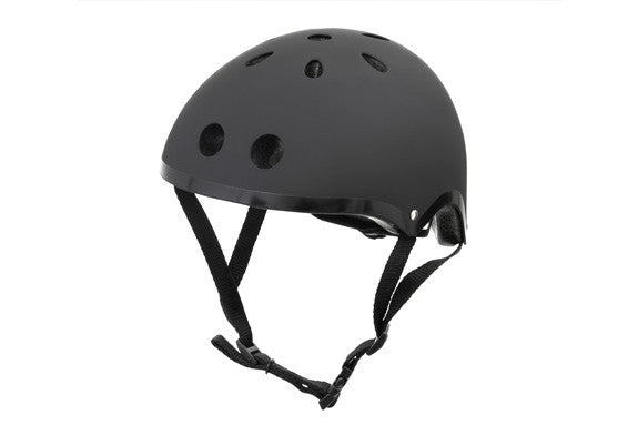 Mini Hornit LIDS Kids Bike Helmets - BLACK - (M Size fits Adult Heads to 58cm)