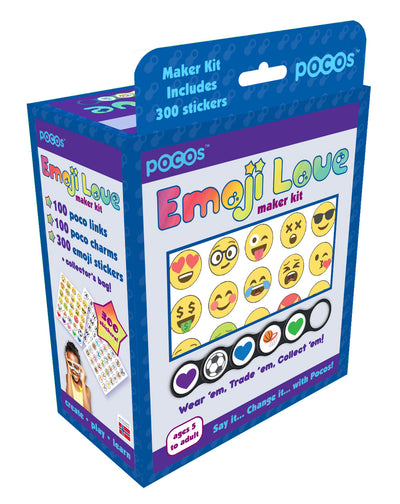 MAKER KIT 100 PIECES 210 Emoji - Stickers 100 POCOS!