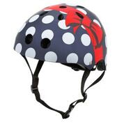 Mini Hornit Lids Kids Bike Helmet - POLKA DOT - (M size fits adult heads to 58 cm)