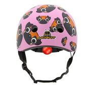 Mini Hornit Lids Kids Bike Helmet - PUG - (M size fits adults heads to 58 cm)