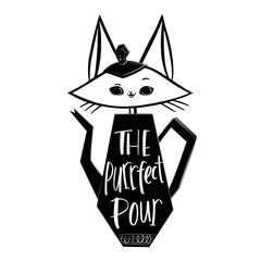 The Purrfect Pour logo