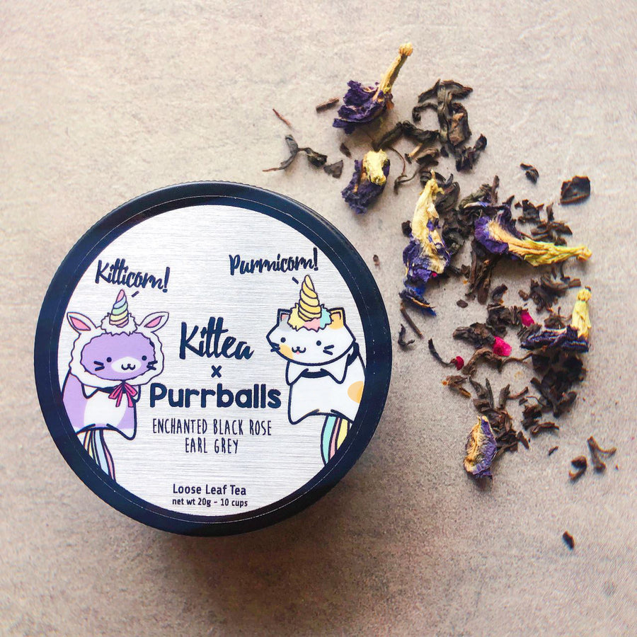 Kittea x Purrballs: Purrnicorn Meets Kitticorn Gift Set
