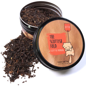The Scottish Fold - Scottish Morning Tea Tin - Kittea