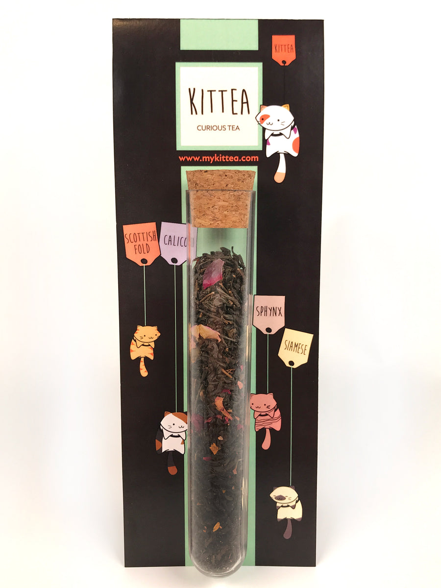 The Sphynx - Valentine's Day Tea Tube - Kittea