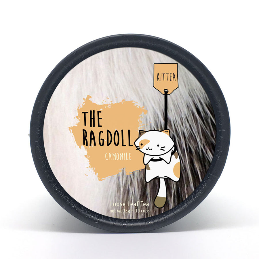 The Ragdoll - Camomile Tea Tin - Kittea