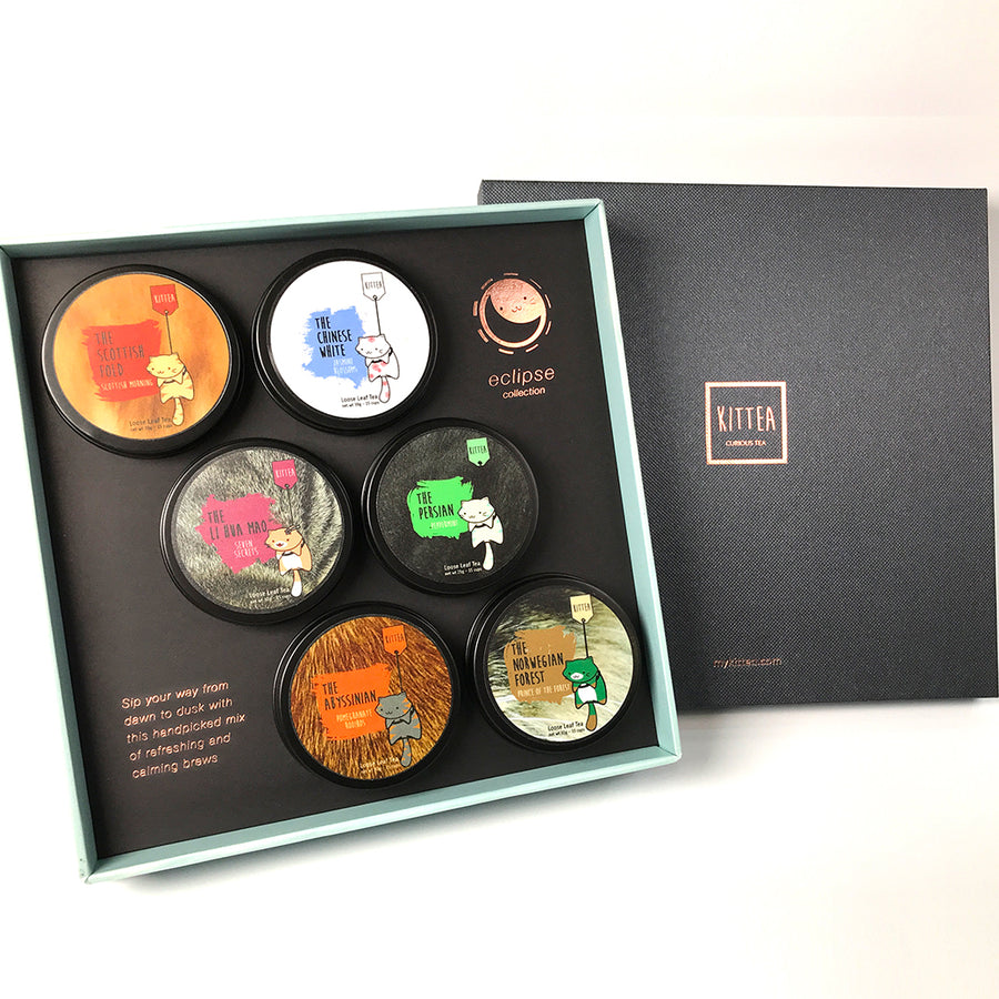 The 6 Pack Gift Box: Eclipse Collection - Kittea