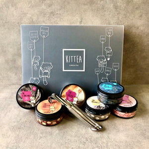 6 Tea Tins Gift Set - Kittea