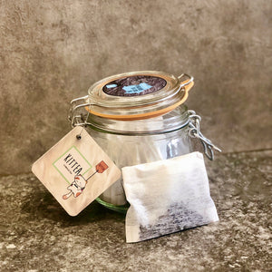 Glass Jar of 12 Tea Pillows