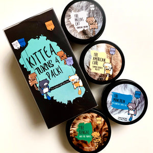 Kittea's 4th Anniversary 4-Tins Gift Set