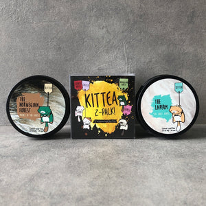 2 TEA TINS GIFT SET - Kittea