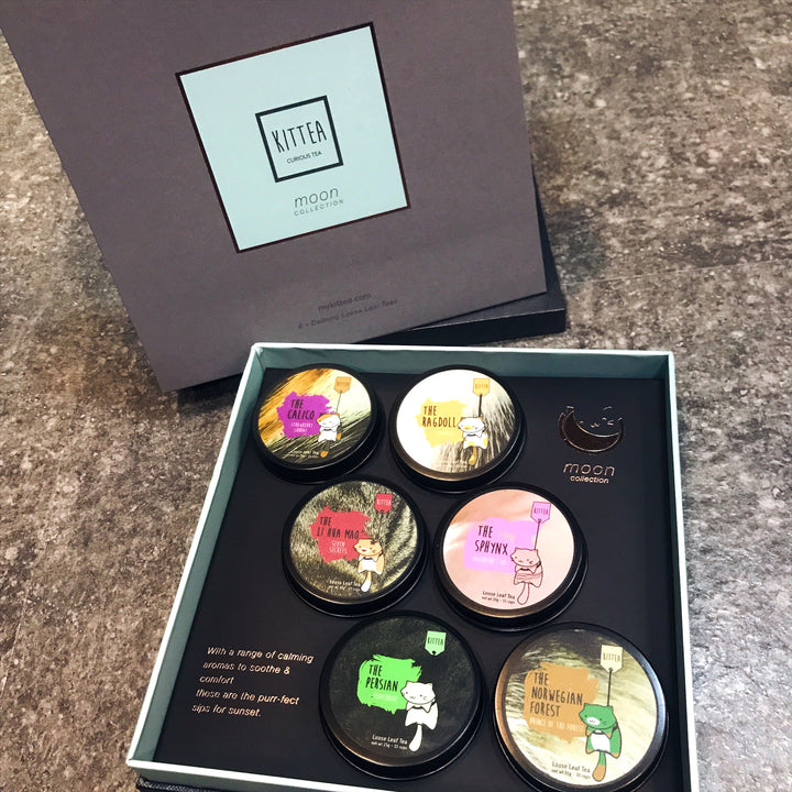 The 6 Pack Gift Box: Moon Collection - Kittea